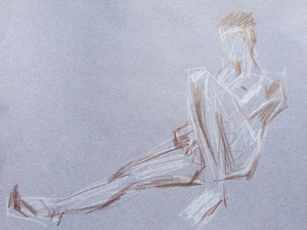 Life Drawing at the Stopford building!